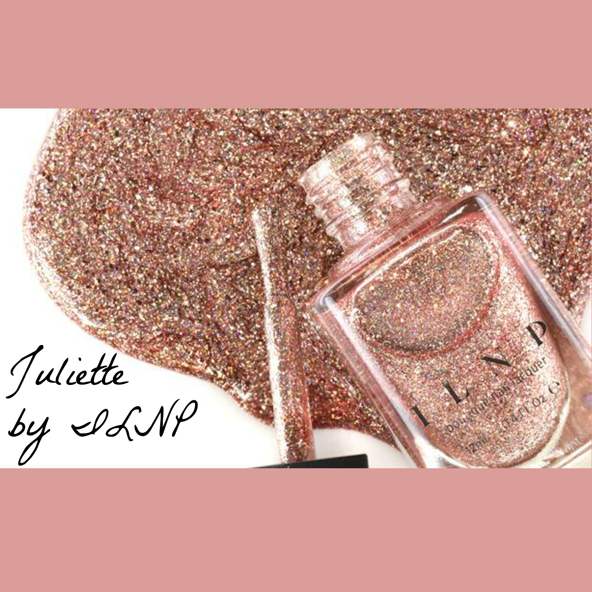 New ROSE GOLD Juliette ILNP (I Love Nail Polish) Coming soon! |